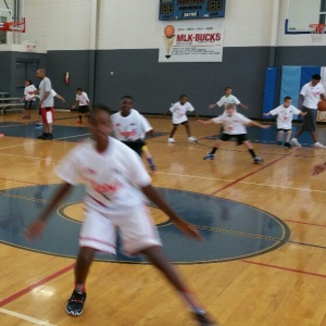 MLK ATC CAMP STRETCHING 2015