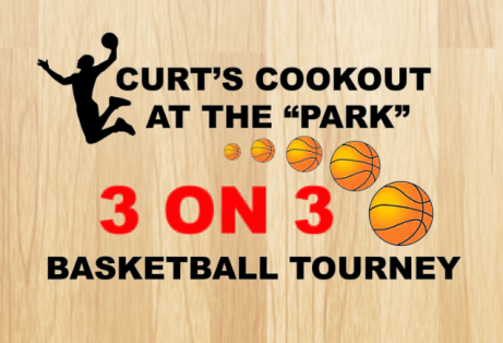 CURTS COOK OUT AT THE PARK LOGO 2015