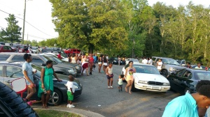 CURTS COOK OUT AT THE PARK THE COMMUNITY 2015